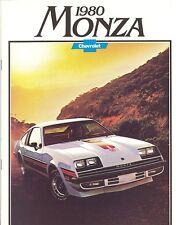 1980 Chevrolet Monza Auto Line Sales Brochure - Mint!