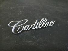 65 Cadillac Deville Eldorado Fleetwood Calais Dash Ashtray Lid Script Emblem