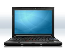 """Lenovo ThinkPad X201 i5 M520 2,4GHz 4GB 160GB 12,1"""" DVD-RW Win7Pro Tasche Dockin"""