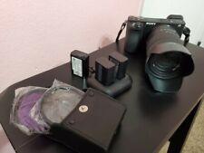 New ListingSony Alpha A6500 24.2Mp Digital Camera w/18-135mm f/3.5-5.6 Lens + accessories