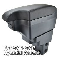For Hyundai Accent 2011 - 2017 Armrest Car Leather New Styling Console