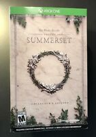 The Elder Scrolls Online Summerset [ Collector's Edition Box ] (XBOX ONE) NEW