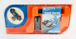 2011 Hot Wheels Video Racer Micro Camera Car w/ LCD Screen Silver Red NEW