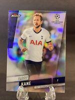 2019-20 Topps Finest UEFA Refractor Harry Kane Tottenham Hotspur England SP QTY