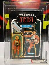Vintage Kenner STAR WARS MOC ROTJ Luke Skywalker (X-wing Pilot)  AFA 80   1983