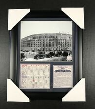 NEW YORK YANKEES STADIUM OPENING DAY 1923 1ST GAME 8X10 FRAMED PHOTO BABE RUTH