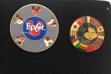 Two Epcot Disney Pins