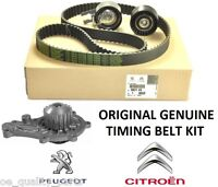 PSA ORIGINAL GENUINE TIMING CAM BELT KIT PUMP CITROEN PEUGEOT FORD VOLVO 1.6 HDi