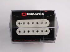 DiMarzio Super Distortion 7 String Bridge Humbucker White W/Chrome Poles DP 712