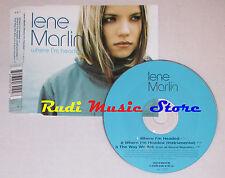 CD Singolo LENE MARLIN Where i'm headed 1999 eu VIRGIN 724389641028 mc dvd S1