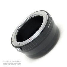 Professional Nikon F to Micro 4/3rds Lens Adapter Ring. M 4/3 Mount Adaptor.