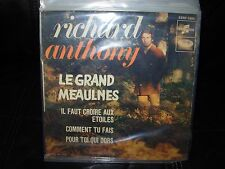 """RICHARD ANTHONY le grand meaulnes ( world music ) 7""""/45 picture sleeve"""