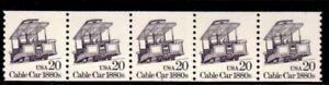 #2263 Cable Car PNC5  Pl #2 (Block Tag)  - MNH