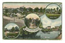 Stafford, Staffordshire Postcard