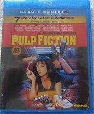 Pulp Fiction (Blu-ray Disc, 2011) Bruce Willis, Uma Thurman - No Digital