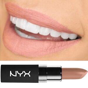 NYX Nude Beige Lipstick Velvet Matte 4g Beach Casual 02