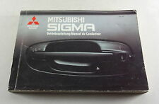 Instrucciones Servicio/Manual Mitsubishi Sigma 3,0l 12V/24V Stand 1991
