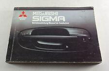 Manuale di istruzioni/manuale MITSUBISHI SIGMA 3,0l 12 V/24 V Stand 1991