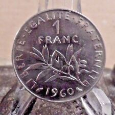 CIRCULATED 1960 1 FRANC FRENCH COIN (11817)2