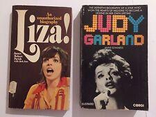 HOLLYWOOD BOOKS 2 x JUDY GARLAND - Anne Edwards & LIZA! - Parish & Ano FREE POST