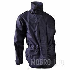 TimeGenuine Royal Navy RAF Style Goretex Waterproof Jacket Coat Navy Blue