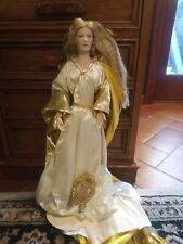 Franklin Heirloom Porcelain Doll Queen Of Galadriel Lord Of The Rings Collection