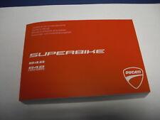 Ducati Fahrerhandbuch SBK 848 u. Hayden Anleitungs- u. Instandhaltungsheft