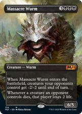 Massacre Wurm - Alternate Art x1 Magic the Gathering 1x Magic 2021 mtg card