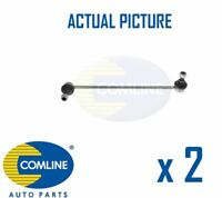 2 x NEW COMLINE FRONT DROP LINK ANTI ROLL BAR PAIR OE QUALITY CSL7041