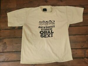 Vintage Funny Dentist Shirt. Touch Of Gold Tag. Small Shirt