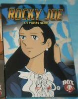 SET DVD MANGA BOXE PUGILATO ANIME TV ANNI 80-ASHITA NO ROCKY JOE 1 Serie, Box.4