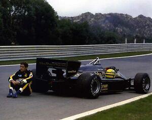 F1 McLaren Driver Brazilian Ayrton Senna A0 A1 A2 A3 A4 Photo Poster