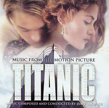 TITANIC - MUSIC FROM THE MOTION PICTURE, MUSIC BY JAMES HORNER / CD