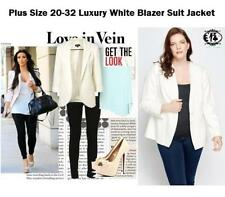 Autumn Polyester Button-Down Coats & Jackets for Women