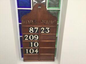 Hymn board