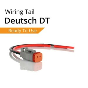 Teralume Industries™ | Genuine USA Deutsch plug 2 Pin DT Connector - Light Bar o