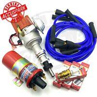 Accuspark Rot 8mm Hochleistung HT Kabel Für Ford Pinto Motoren 1M Spule