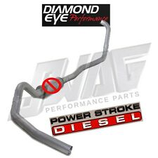 "03-07 Ford 6.0 Powerstroke Diamond Eye 4"" Turbo Back Exhaust Kit Auto Trans Only"