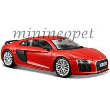 MAISTO 31513 AUDI R8 V10 PLUS 1/24 DIECAST MODEL CAR RED