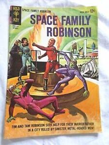 1964 Space Family Robinson Comic Book, Golden Key