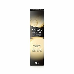 2x Olay Age Protect  Anti-Ageing Cream For Dark Spots & Wrinkles -18 gm