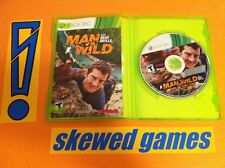 Man vs Wild with Bear Grylls - XBox 360 Microsoft COMPLETE