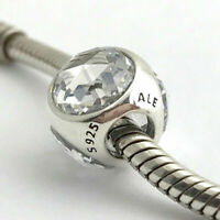 Authentic Pandora Radiant Droplet, Clear CZ Charm – 925 Sterling Silver 792095CZ
