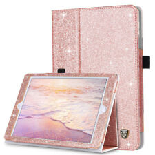 Für iPad Mini 1 2 3 PU Leder Schutzhülle Folie Smart Case Tasche Etui+Back Cover