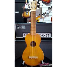 Mahalo MK1TBR Kahiko Series Soprano Ukulele with Bag in Natural