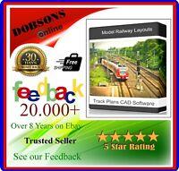 Railway Layouts Design Build Model Track Plans CAD Hornby OO Gauge Download