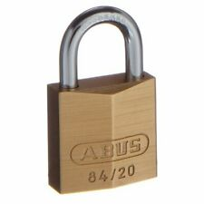 ABUS 20mm Padlock 84/20-Keyed Differently-Free Postage