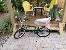 2020 Schwinn Stingray Sting Ray banana seat bike Green New