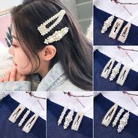perles decor épingles à cheveux bb barrettes coiffe des bijoux des barrettes