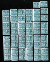 US Stamps # 1059 VF Lot of 50 OG NH Scott Value $75.00